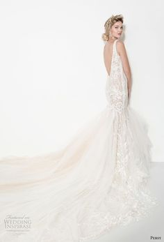 persy couture 2019 bridal sleeveless deep v neck full embellishment elegant sexy mermaid wedding dress open v back chapel train (6) bv  -- Persy Couture 2019 Wedding Dresses