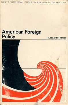 Cover of American Foreign Policy, 1971. Designed by Ed Bedno.