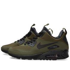 brand new bad05 8d308 Nike Air Max 90 Mid Winter (Dark Loden  Black) I neeeeeeed these.