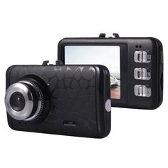 [$7.16] Portable Full HD Car Camcorder DVR Driving Recorder Digital Video Camera Voice Recorder, 2.4 inch 4:3 TFT Screen Display, Support Infrared Night Vision, TF Card