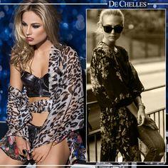 Coleção Fashion #dechelles #lingerie #streetstyle #fashion #kimono #animalprint vendas@dechelles.com.br