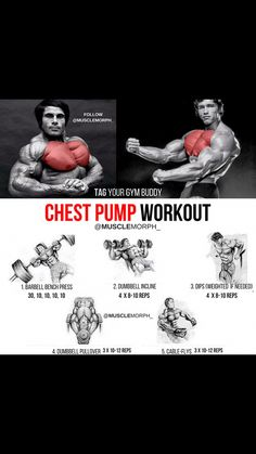 Chest Pump chest workour musclemorph musclemorphsupps.com