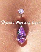 Vente de piercing nombril luxe - Dyanco Piercing Lyon
