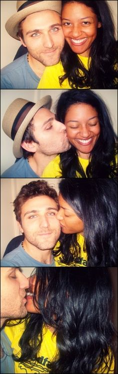 They are sooo cute together!!!=BlackwhiteFlirts. com = All singles there are seeking relationships beyond the color line.