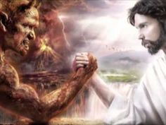 ▶ La pelea entre Cristo y el diablo -