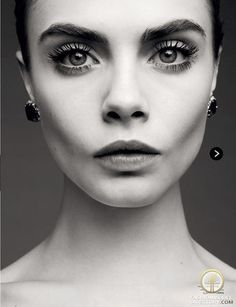 """Cara Delevingne featured in the LOVE editorial """"The Girls"""" from February 2013 , showing David Morris"""