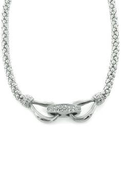 BJG Steeling Beauty Dabi Krystal Double Bit Necklace - Beyond the Rack