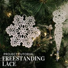 Bring your embroidery to life using stunning freestanding lace designs from Embroidery Library!