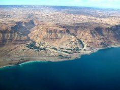 En Gedi is the largest oasis along the western shore of the Dead Sea.