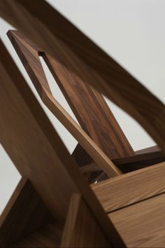 #Medici lounge #chair in #walnut frame by #KonstantinGrcic