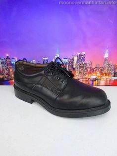 Mens shoes PURITAN Marcus black dress casual Work Oxfords sz 7 W Wide #Puritan #Oxfords