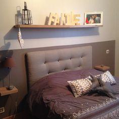 Tete de lit faite maison