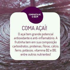 Best Acai Bowl Recipe, Acai Benefits, Acai Fruit, Mixed Fruit, Cake Shop, Plant Based Diet, Alternative Medicine, Herbalife, Mojito
