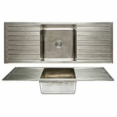 Basin Sink - Double Drainboard - SK565