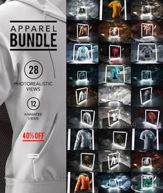 Apparel / Clothing Mock-up Bundle is a Apparel Mockup PSD Template for apparel mockup design created by Mockup Photoshop, Image Font, Packaging, Shirt Mockup, Print Templates, Design Templates, Graphic Design Branding, Business Brochure, Apparel Clothing