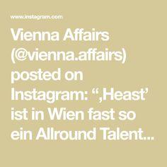 """Vienna Affairs (@vienna.affairs) posted on Instagram: """"'Heast' ist in Wien fast so ein Allround Talent wie 'Oida', mit dem man komplizierte Sachverhalte in einem 1-Wort-Satz ausdrücken kann. Von…"""" • Jan 17, 2021 at 4:02pm UTC"""
