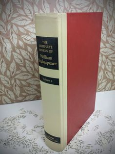 The complete works of William Shakespeare, Volume 2 Hollow Book. Commemorate the 400th anniversary of William Shakespeares death in 1616 with this