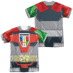 Voltron - Costume (Front - Back Print)