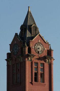 Belding Clock tower // Belding es una ciudad ubicada en el condado de Ionia en el estado estadounidense de Míchigan.