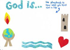 Flame: Creative Children's Ministry: Exploring God's Character: 'God is...' Play Dough ...