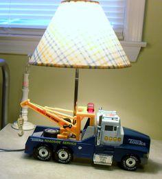 Tonka tow truck lamp