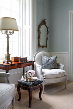 English Country House – SUSAN BURNS DESIGN