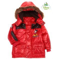 Vêtement bébé et enfant  Doudoune à capuche Mickey - manteau bébé rouge.  Découvrez un grand choix de vetement bebe pas cher. 6417248789b