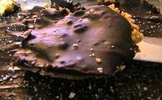 Chocolate Covered Oatmeal Nut Bars