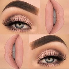 Feminine pink our current artist obsession @makeupthang killed it with this…