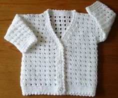 Ravelry: Babies Cardigan No.185 pattern by Kay Jones