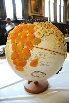 World According to Gorp. From the Duke Edible Book Festival.
