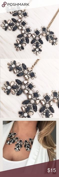 NY&Co black statement necklace New with tags. No trades or PayPal please. Bundle 3+ for 20% off 💗 New York & Company Jewelry Necklaces