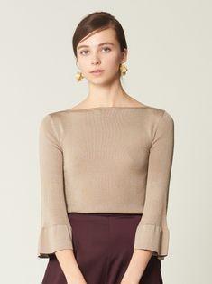 袖フレアニットプルオーバー(ニット)|CELFORD(セルフォード)|ファッション通販|ウサギオンライン公式通販サイト