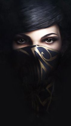 Dishonored_2_emily-iPhone-Wallpaper