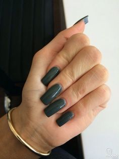 Kylie jenner nails (With images) Square Acrylic Nails, Long Acrylic Nails, Square Nails, Long Nails, Blue Gel Nails, Dark Nails, Green Nails, Uñas Kylie Jenner, Acrylic Nails Kylie Jenner