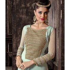 Eid Special Designer Sky Blue Party Wear Palazoo Style Salwaar Suit-ASE642HYT ( ARTI-522 )Karishma