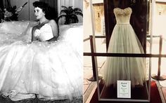 """Liz Taylor em """"Um lugar ao sol"""" (1951) O vestido usado por Elizabeth Taylor é puro luxo. No filme, a atriz interpreta Angela Vickers, a filha de um poderoso dono de fábrica."""