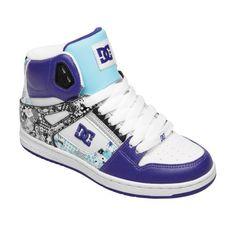 Womens Rebound Hi Shoes - DC Shoes