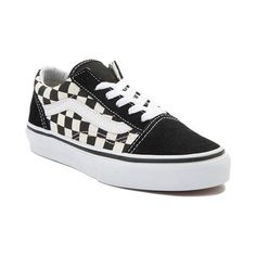 dc66f0953a6e04 Vans Old Skool Chex Skate Shoe ( 99) ❤ liked on Polyvore featuring ...
