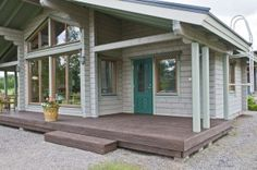 #Wooden #House Exterior painted in a #Tikkurila finish