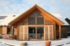 Maison bois architecte à vendre Seine-Maritime