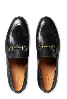 Gucci Jordan leather loafer