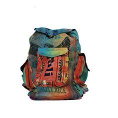 Jute Multicolor Backpack (Nepal)