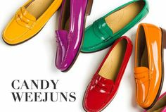 f2fc3732d2b womans Candy Weejuns Shoe Advertising