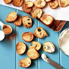 Cinnamon Sugar Bagel Chips.