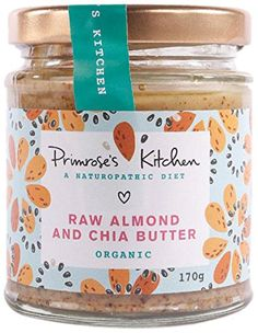 Primrose's Kitchen Organic Almond and Chia Butter 170 g (Pack of 6)