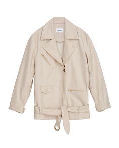 CITE - Biker jacket - Creme Biker Style, Blazer, Denim, Model, How To Wear, Jackets, Collection, Fashion, Down Jackets