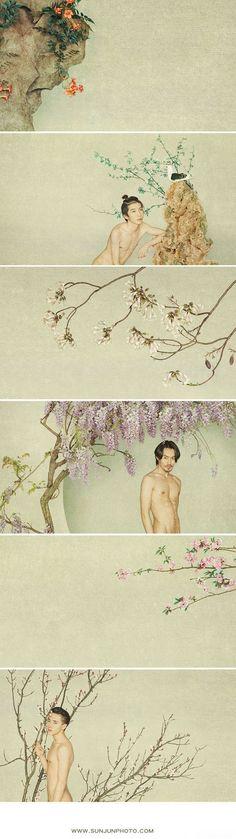 《百花录》Sun Jun  http://www.lofter.com/tag/%E5%AD%99%E9%83%A1#