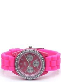 Cerise Crystal Bezel Watch...$29.99!!!