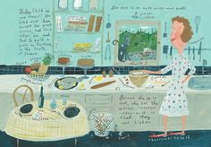 Happy 100th, Julia Child!     (Art by Jessie Hartland)